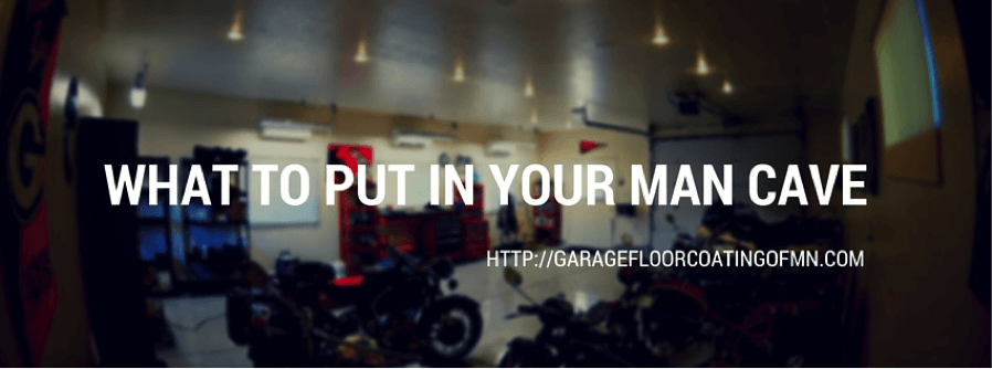 Man Cave Garage Minnesota : What to put in your man cave garage floor coating of mn