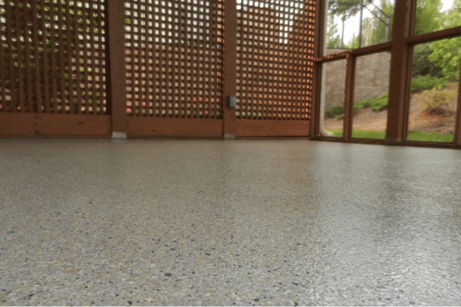 Stamped Concrete Garage : Stamped concrete colors and patterns garage floor