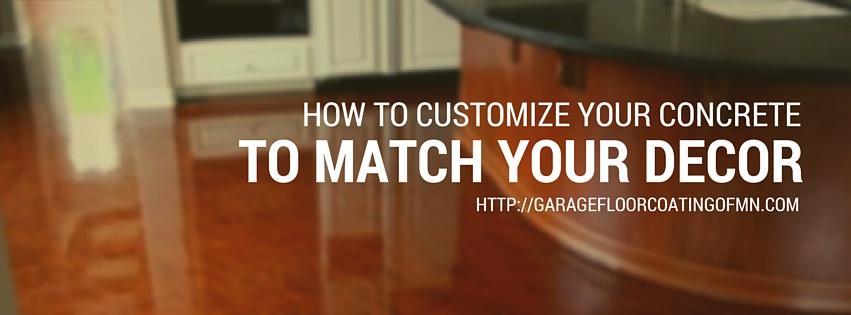 customize your concrete