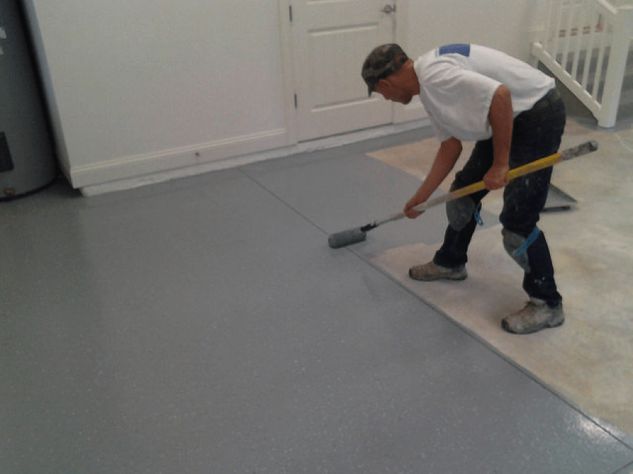 The problem with diy garage floor kits garage floor coating of mn if you have a busy life the last thing you need is a time consuming project the actual coating installation is only part of the equation solutioingenieria Images
