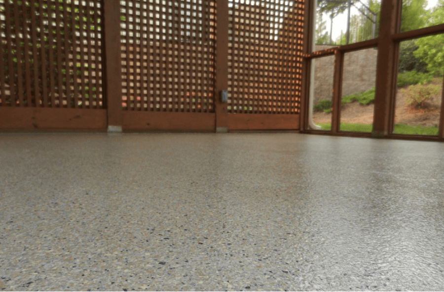This Rough Surface Exposes Smooth Rocks In The Concrete, And Adds Safety To  Your Patio Or Pool ...
